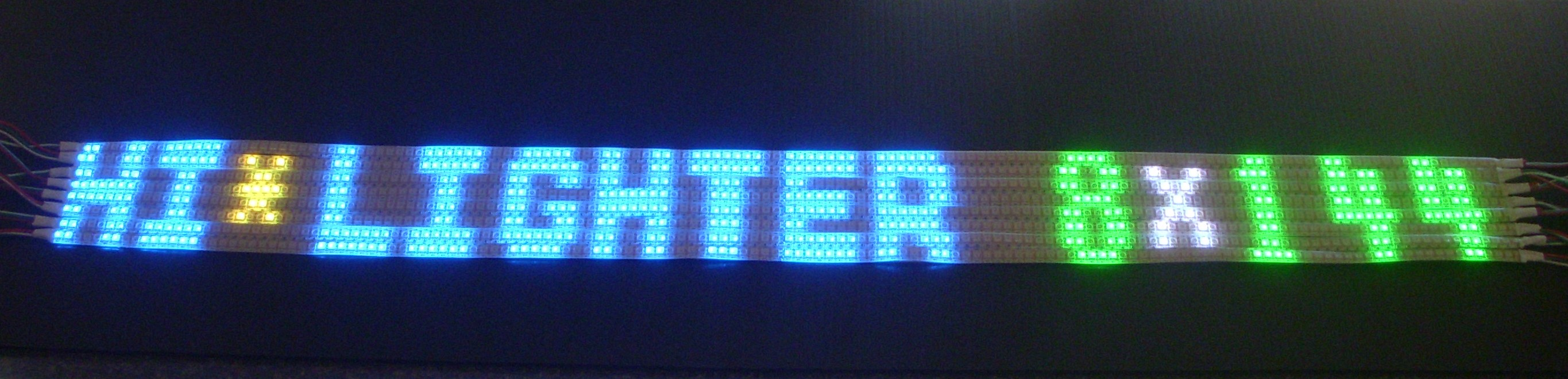 HI*LIGHTER SIGN 8x144